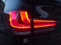 2014 BMW X5 xDrive 35i Sparking Brown Metallic rear taillights