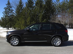 2014 BMW X5 xDrive 35i Sparking Brown Metallic side