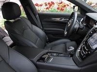 2014 Cadillac CTS V-Sport front leather seats
