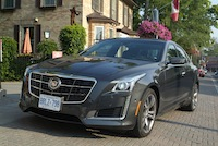 2014 Cadillac CTS V-Sport front