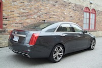 2014 Cadillac CTS V-Sport rear exhaust