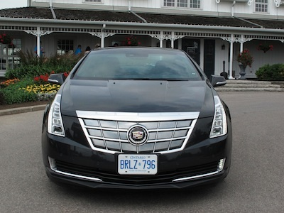 cadillac elr front grill