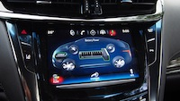 2014 Cadillac ELR battery recharge display