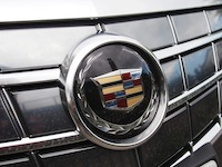 2014 Cadillac ELR Graphite Gray front badge