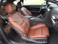 2014 Cadillac ELR kona brown leather seats