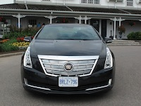 2014 Cadillac ELR Graphite Gray front view