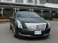 2014 Cadillac ELR Graphite Gray front angle