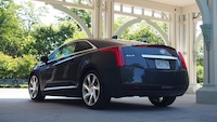 2014 Cadillac ELR Graphite Gray rear side view