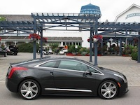 2014 Cadillac ELR Graphite Gray side view