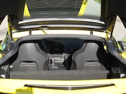rear trunk storage