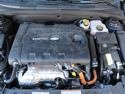 2014 Chevrolet Cruze Diesel Black engine