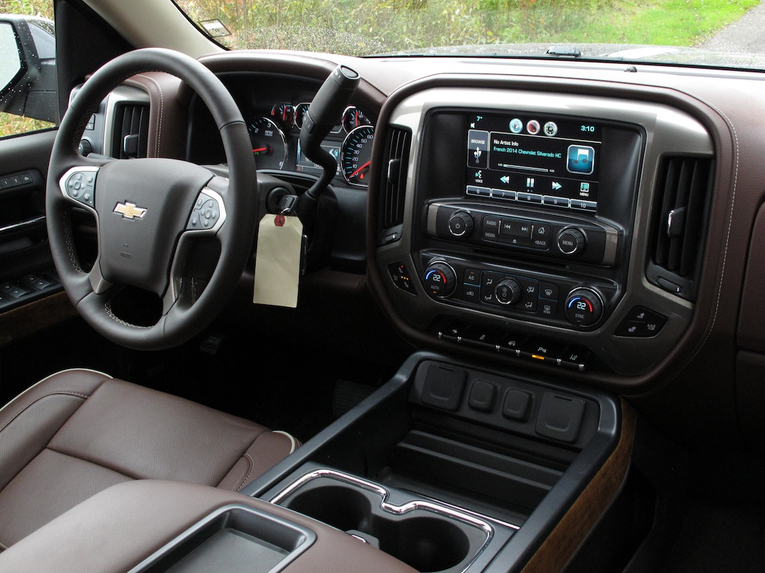 silverado chevrolet interior drives