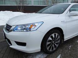 2014 Honda Accord Hybrid White
