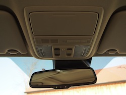 2014 Honda Accord Hybrid White rear view mirror