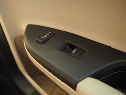 2014 Honda Accord Hybrid White side door controls