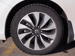 2014 Honda Accord Hybrid White rims wheels