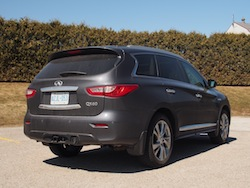 2014 Infiniti QX60 Hybrid rear side view