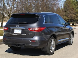 2014 Infiniti QX60 Hybrid rear view