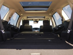 2014 Infiniti QX60 Hybrid rear trunk storage all seats folded down