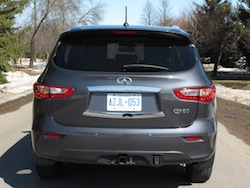 2014 Infiniti QX60 Hybrid full rear view