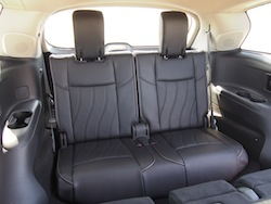 2014 Infiniti QX60 Hybrid third row seats
