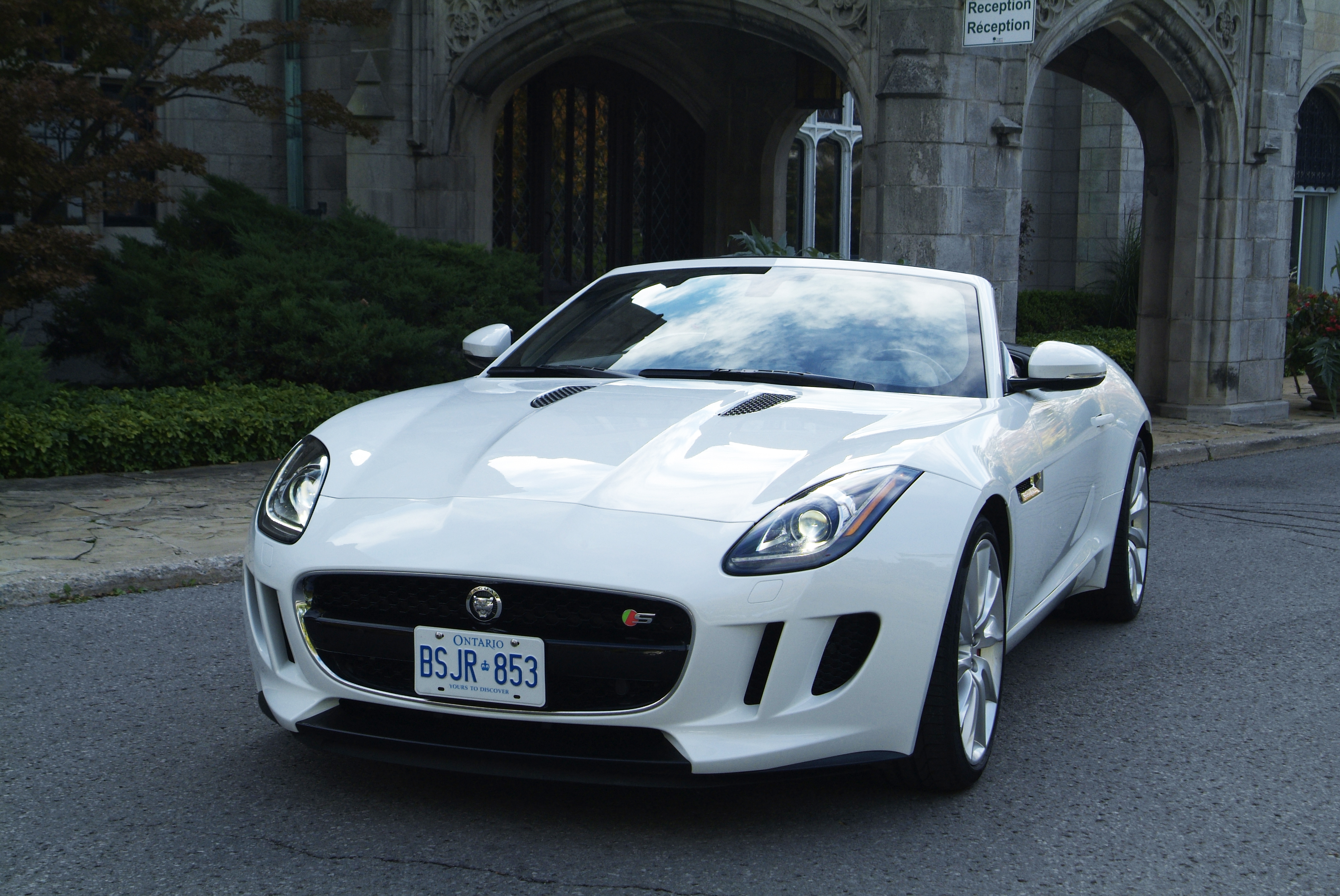 2014 Jaguar F-Type Convertible White