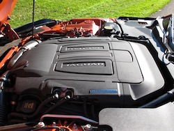 2014 Jaguar F-Type Convertible engine