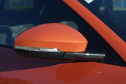 2014 Jaguar F-Type Convertible Orange side mirrors