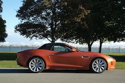 2014 Jaguar F-Type Convertible Orange
