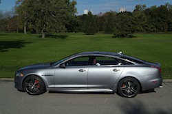 2014 Jaguar XJR L Silver side