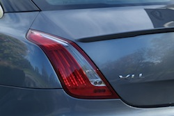 2014 Jaguar XJR L Silver rear taillights