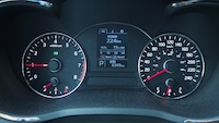 2014 Kia Forte Koup gauges