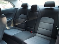 2014 Kia Forte Koup rear seats