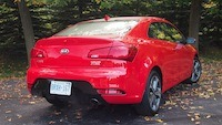 2014 Kia Forte Koup rear lights exhaust
