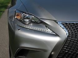 2014 Lexus IS350 F-Sport AWD gun metal grey headlights nike symbol