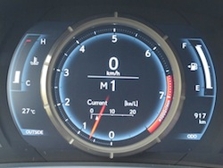 2014 Lexus IS350 F-Sport AWD gun metal grey lfa instrument cluster gauges