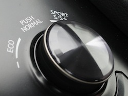 2014 Lexus IS350 F-Sport AWD gun metal grey gear selector