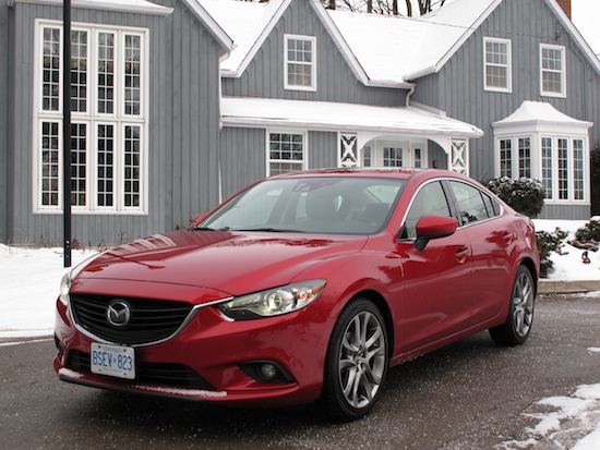 2014 Mazda6 GT Red front side view