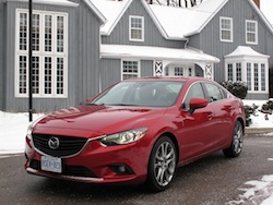 2014 Mazda 6 GT Red front side view