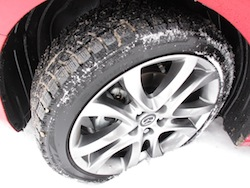 2014 Mazda 6 GT Red tire treads wheels