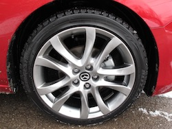 2014 Mazda 6 GT Red optional 19 inch wheels