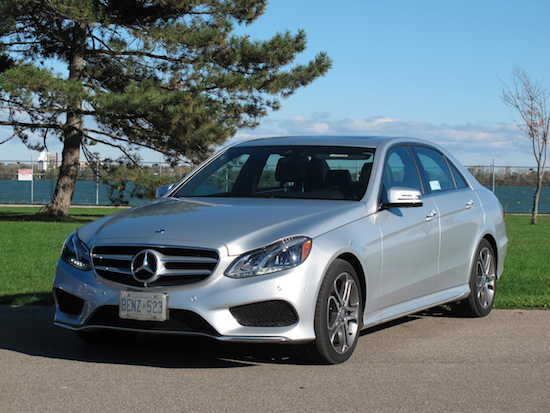 2014 Mercedes-Benz E250 BlueTEC Silver front side view
