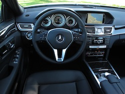 2014 Mercedes-Benz E250 BlueTEC Silver interior dashboard