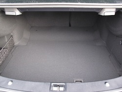 2014 Mercedes-Benz E350 Coupe Gray trunk storage space rear