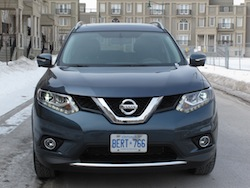 2014 Nissan Rogue SL AWD front view