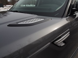 2014 Range Rover Sport Hood and Side Grille