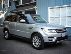 2014 Range Rover Sport V8 Supercharged Indus Silver front
