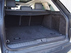 2014 Range Rover Sport V8 Supercharged Indus Silver trunk storage