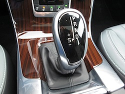 2014 Volvo S60 T6 AWD black piano gear selector wood trim