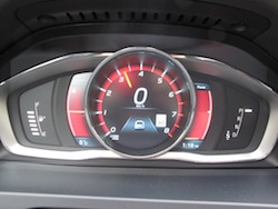 2014 Volvo S60 T6 AWD sport gauge instrument cluster